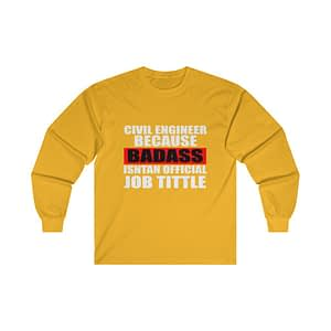 CIVIL ENGINEER Long Sleeve T...