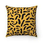 colorful camouflage Pillow