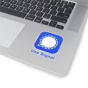 Use Signal Stickers