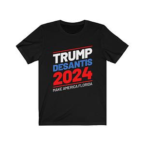 Trump Desantis 2024 T shirt