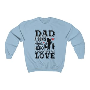 Dad A SON'S Unisex Sweatsh...