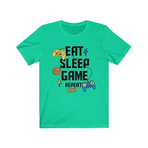 eat sleep game repeat T-Shir...