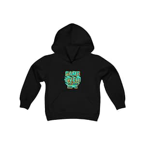 game over Youth Hoodie