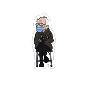 bernie sticker ,Bernie Sande...