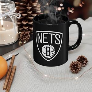 Brooklyn Nets  logo mug 11oz
