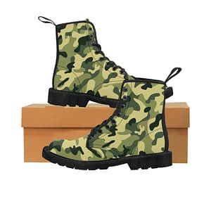Camouflaged Men's Canv...