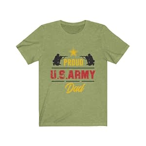 Proud Us Army dad T-Shirt