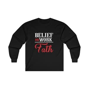 BELIEF  Long Sleeve Tee