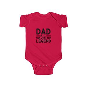 dad the man the mith Bodysui...