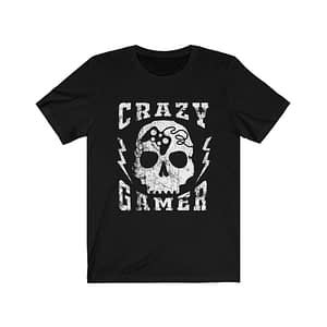 Crazy Gamer T-Shirt