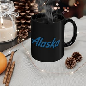 Alaska logo mug 11oz