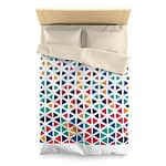 abstract colorful geometric ...