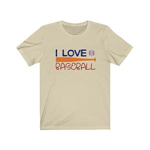 I Love Baseball Sport T-Shir...