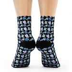 kitten cat and fish Socks 3/...